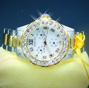 FIRM PRICE-ON SALE-INVICTA ladies two tone watch